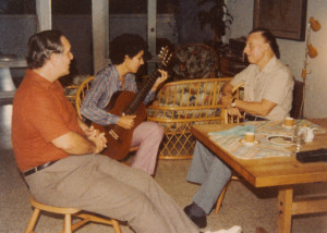 Private performance for Francis Schwartz and Abel Carlevaro, PR, c. 1984.
