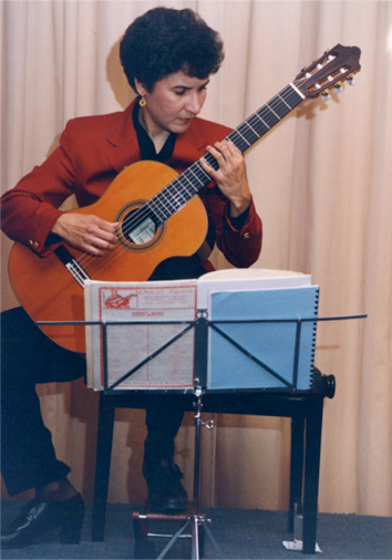 USIA Concert in Belize, 1995.