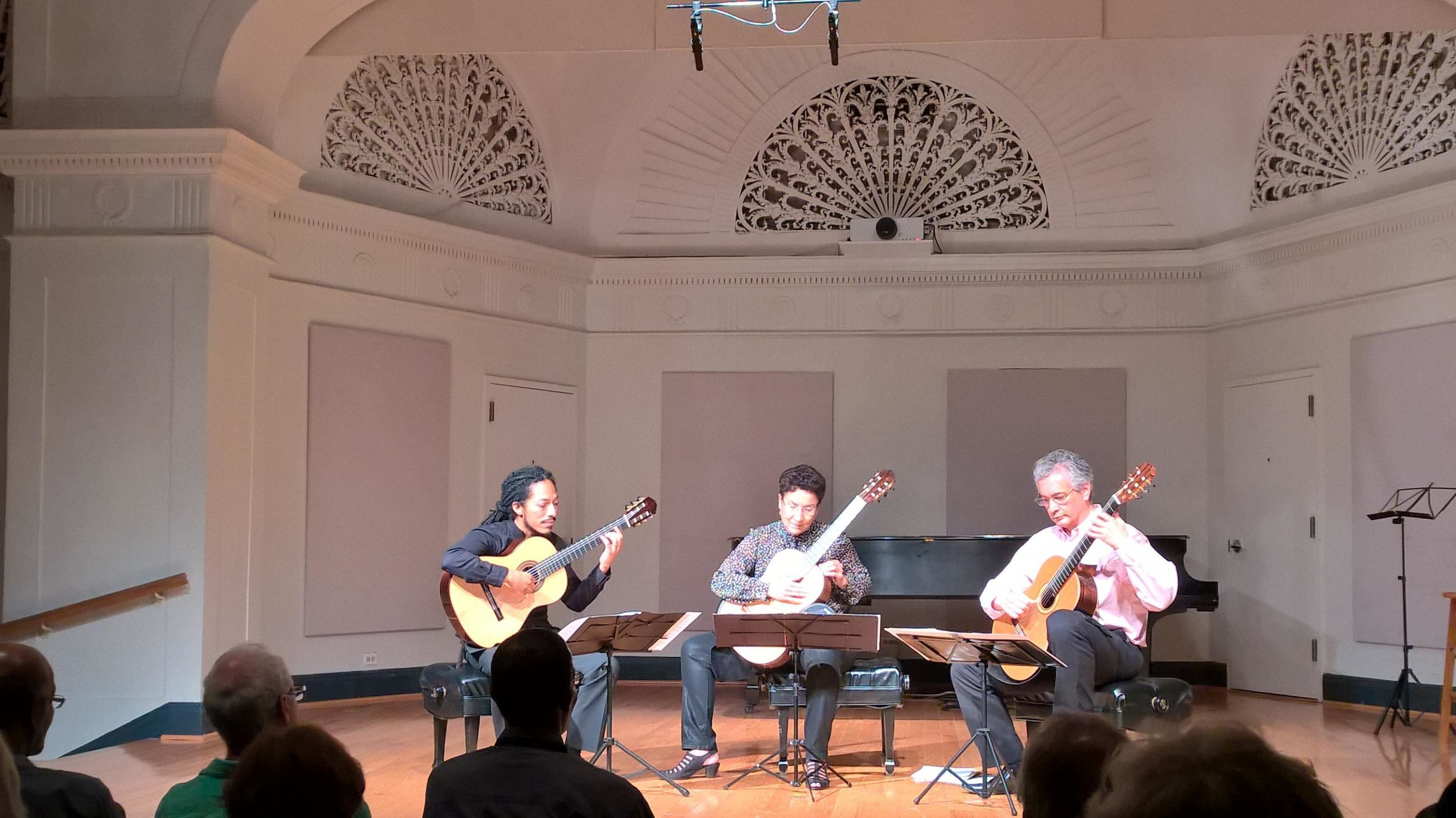 Trio Cuerdas Al Aire To Perform At Mannes Guitar Seminar 2015