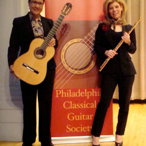 AMR And Carla Auld In Concert For Philadelphia Classical Guitar Society On March, 2013